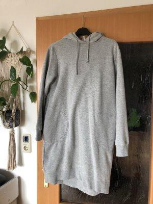 H&M Divided Robe à capuche gris clair