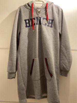 Bench Robe à capuche bordeau-gris
