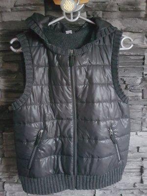 s.Oliver Hooded Vest black-dark grey