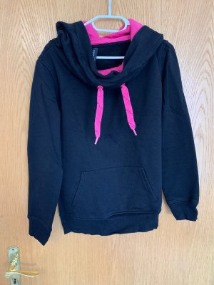 Blind Date Oversized Sweater black-pink