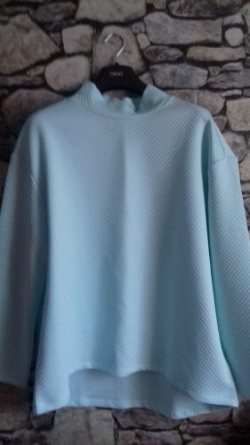 Jersey largo azul pálido-menta Poliéster