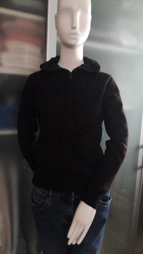 Hoody Jacke aus reiner Wolle