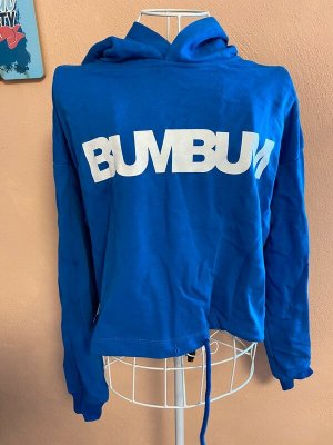 BumBum Sweat à capuche bleu