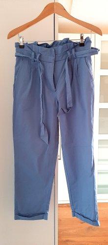 HOoooRaY!!!Neuwertige High-Waist Hose von Mango, blau, Gr. S