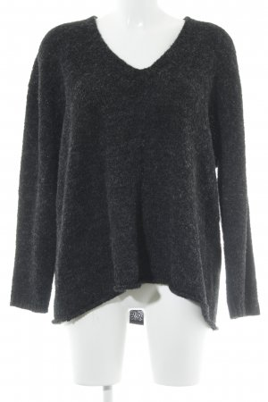 HOPE Strickpullover dunkelgrau Casual-Look