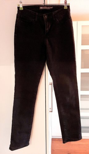 HORAAAY!!!Neuwertige LEVI'S Jeans, Demi Curve, Mid Rise, Slim, schwarz, Gr. 27/32