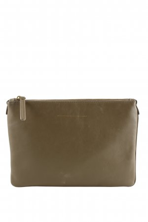 Horizn Studios Clutch bronzefarben Business-Look