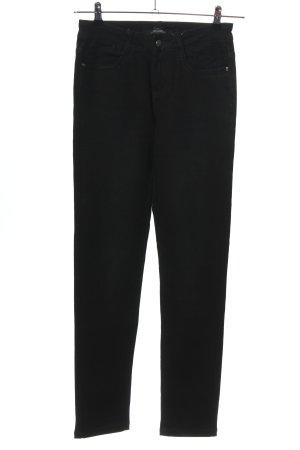 Horsy Skinny Jeans schwarz Casual-Look