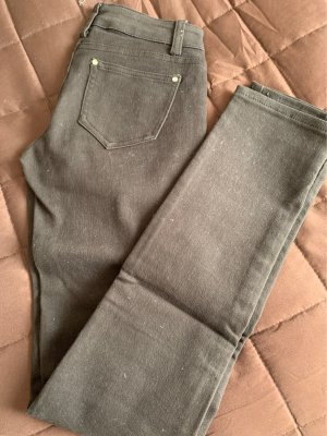 Low-Rise Trousers dark brown
