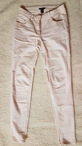 HM Jeans a 7/8 color oro rosa-rosa pallido
