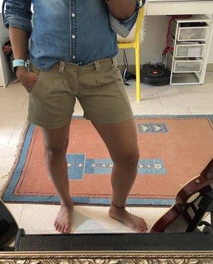 Hot pants lichtbruin