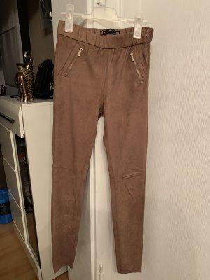 Amisu Jersey Pants light brown-beige