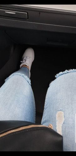 ohne Etikett Denim Flares light blue