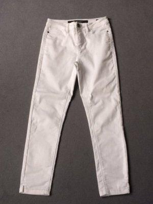 Broadway Pantalon 7/8 blanc coton