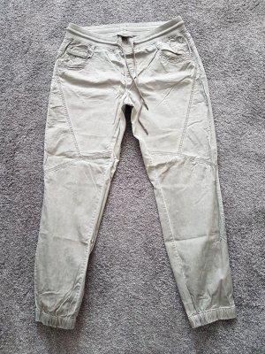 Cecil Jersey Pants grey brown