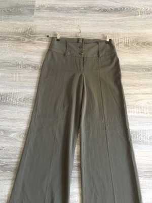 H&M Pantalón de campana gris verdoso-caqui