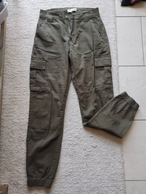 Laulia Pantalon kaki gris vert-kaki