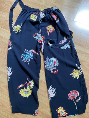 Only 3/4 Length Trousers multicolored polyester