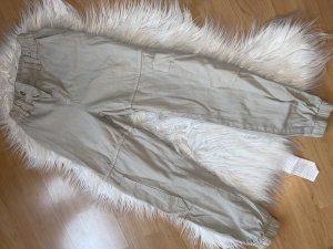 Adax Pantalone boyfriend bianco sporco-beige chiaro