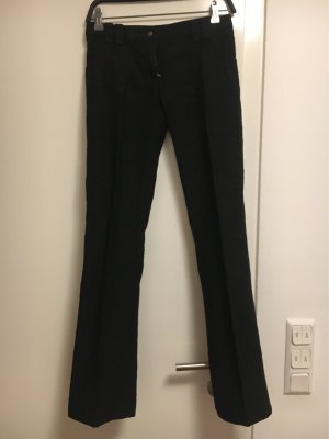 Patrizia Pepe Pantalón de lino negro