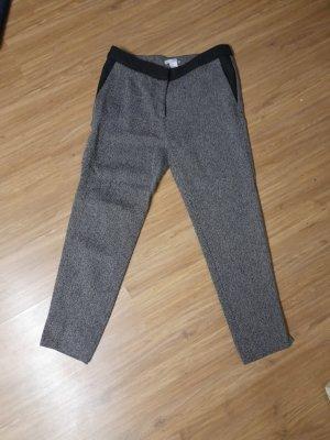 HM Pantalon de costume blanc-noir