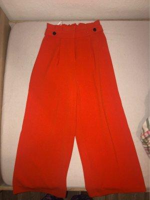 Primark Pantalone a zampa d'elefante arancio neon-arancione