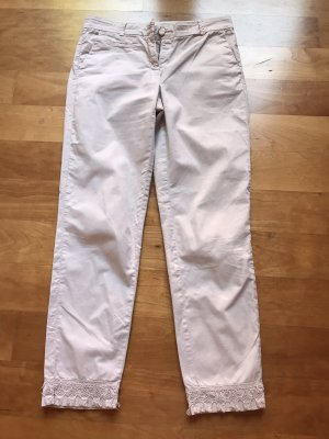 Cambio Pantalone a 7/8 beige chiaro
