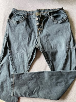 Zac&Zoe Paris Pantalon cinq poches gris ardoise