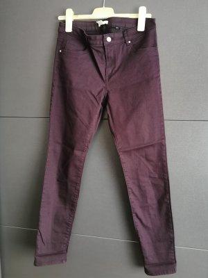 H&M Hoge taille jeans violet