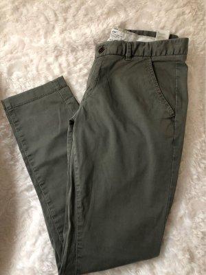 H&M L.O.G.G. Kaki broek khaki