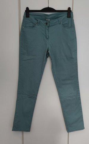 UP Fashion Pantalon cinq poches gris vert