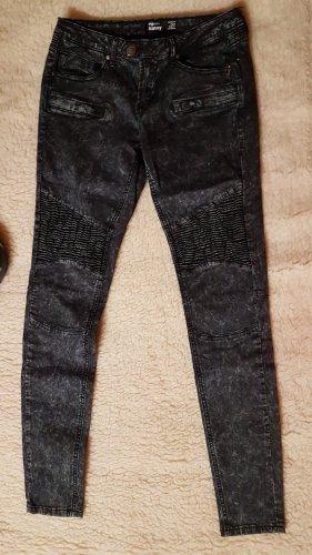 FB Sister Jeans a 7/8 grigio scuro