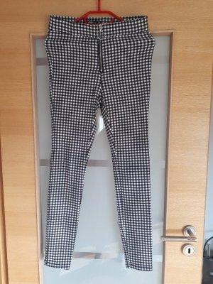 FB Sister Pantalon en jersey noir-blanc