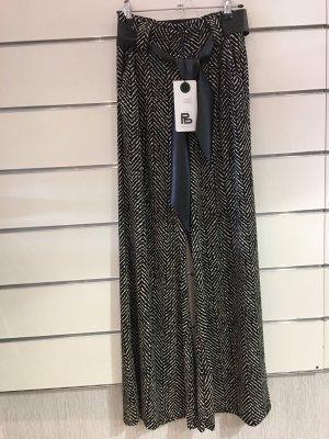 new collection Pantalone culotte bianco-nero