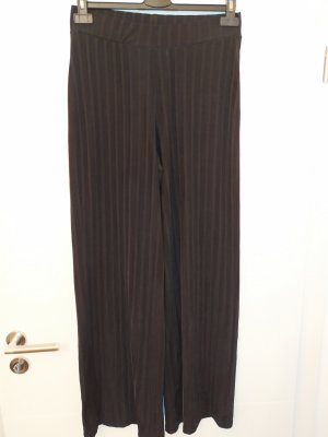 Gina Tricot Pantalón de campana negro