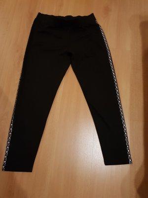 Laura Kent Pantalone jersey nero