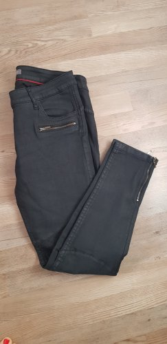Blue Fire CO Pantalon cigarette noir