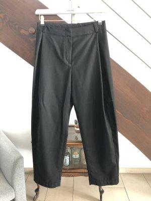 Elvine Spodnie z zakładkami czarny