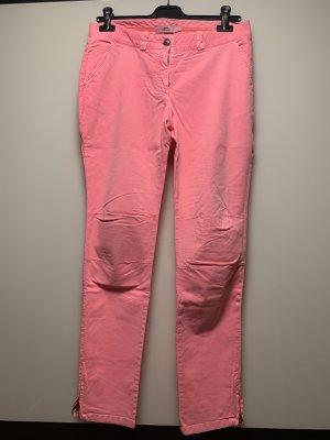 0039 Italy Pantalón tobillero rosa neón