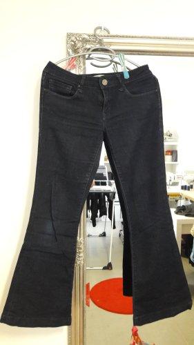 Mavi Jeans Co. Jeans flare bleu foncé
