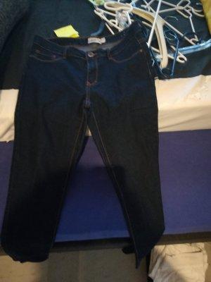 Janina Drainpipe Trousers dark blue