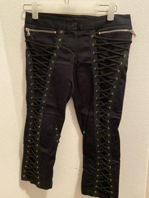 Adele Fado Pantalon 3/4 noir