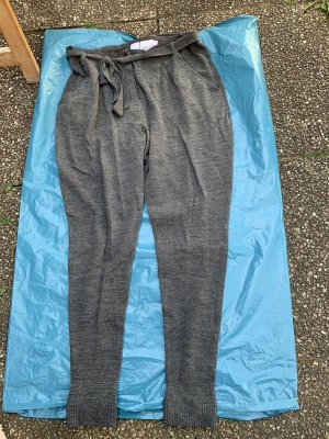 Alba Moda Pantalón de lana gris oscuro