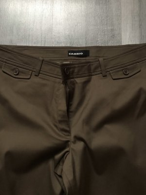 Cambio Jersey Pants bronze-colored