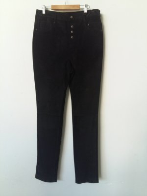 AB Design Leather Trousers black leather
