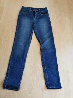 Pantalón de cintura alta gris pizarra