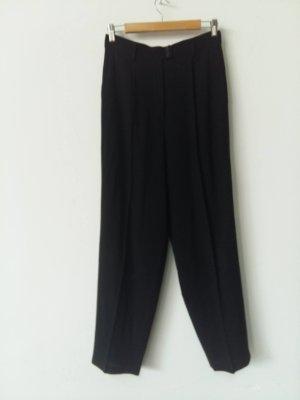 Jil Sander Pantalon en jersey noir coton