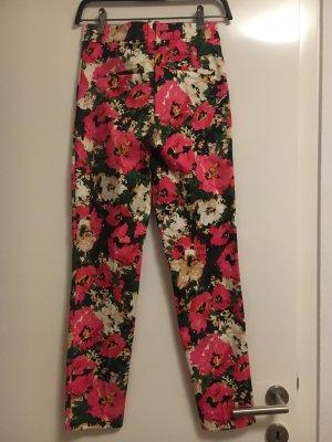 H&M Boyfriend Trousers multicolored
