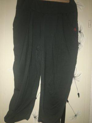 Vetono Pantalon fuselé kaki viscose