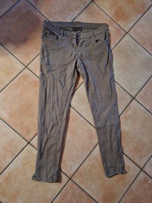Esmara Pantalone a sigaretta marrone-grigio